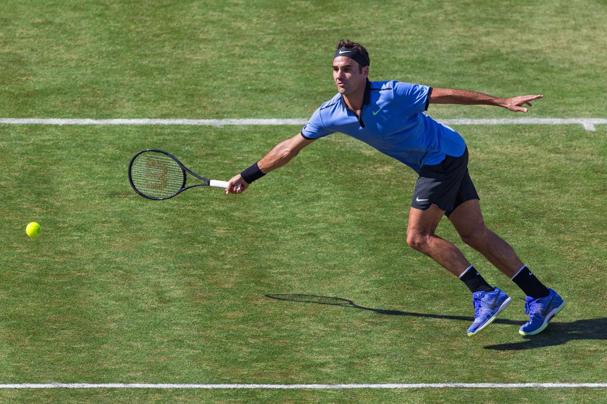 Tennis, akthletisch, Athletik