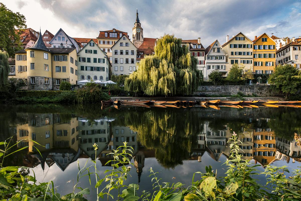 Heimat, Neckarfront Tübingen, Stocherkähne