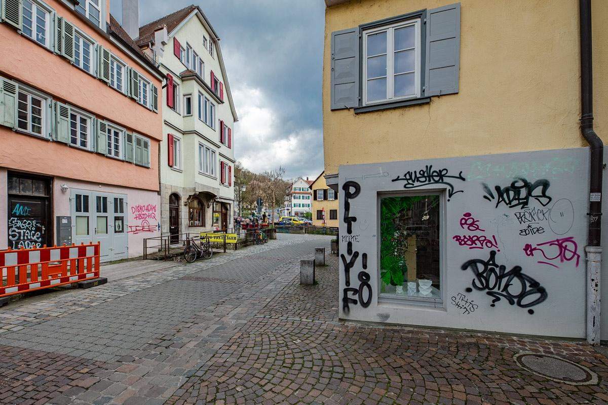 Fragezeichen, ?, Tübingen