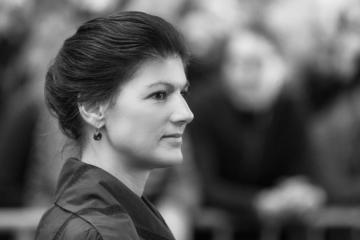 Sahra Wagenknecht, Portrait