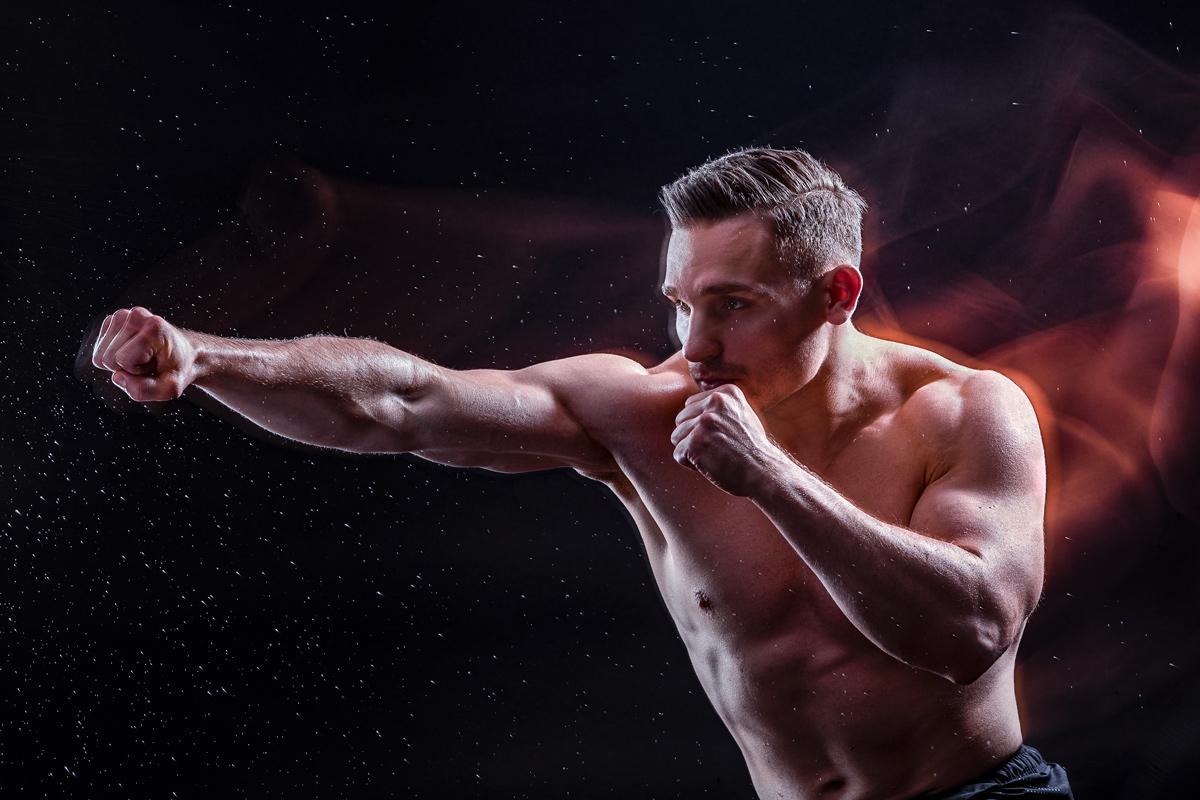 Boxen, Kampfsport, Athlet, Startseite, Werbephotographie