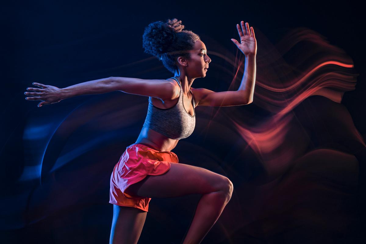 Leichtathletik, Athletik, Startseite, Werbephotographie
