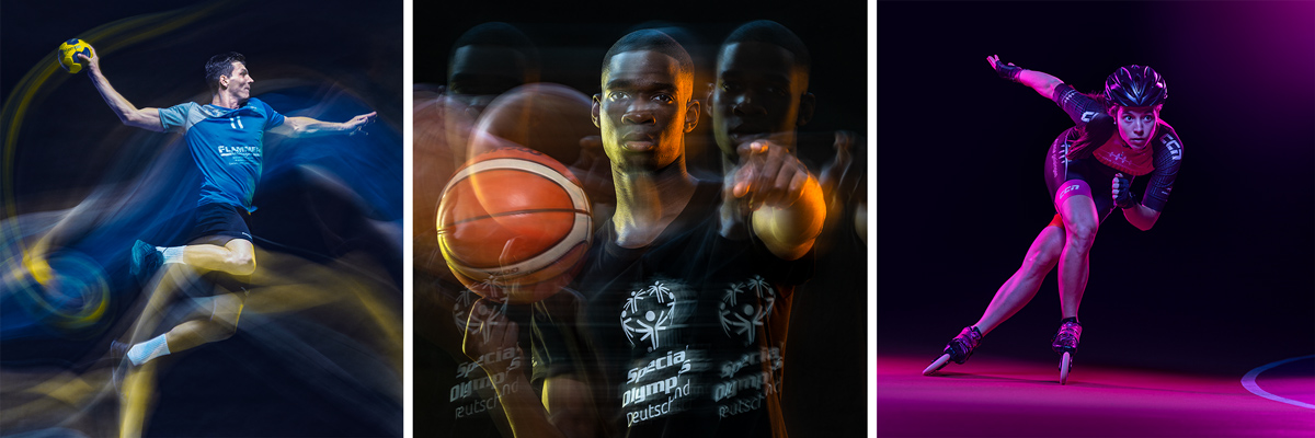 Werbephotographie, Commercial, Ad, Leistungen, Handball, Basketball, Speedskating